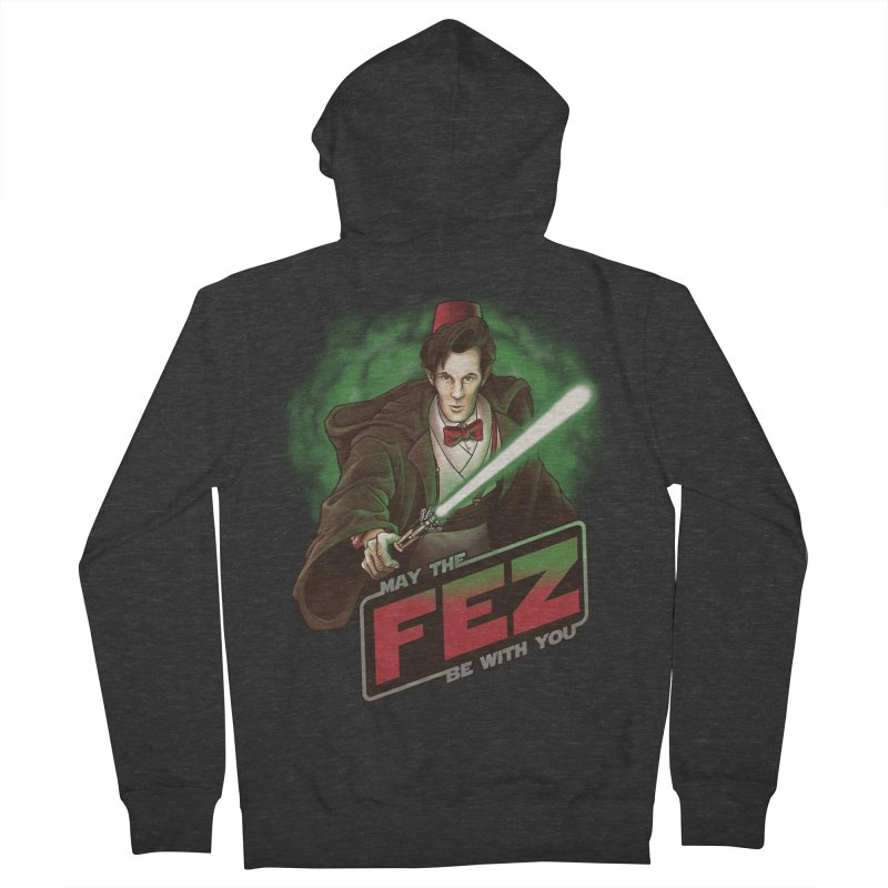 May the Fez be With You Women's Zip-Up Hoody by Ian Leino @ Threadless