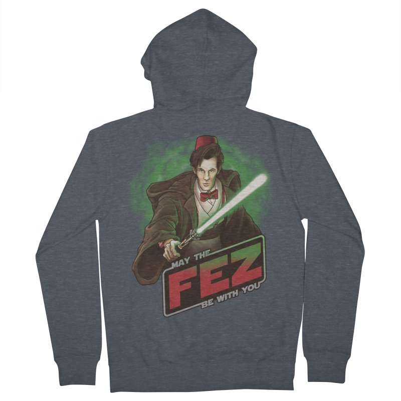 May the Fez be With You Women's French Terry Zip-Up Hoody by Ian Leino @ Threadless