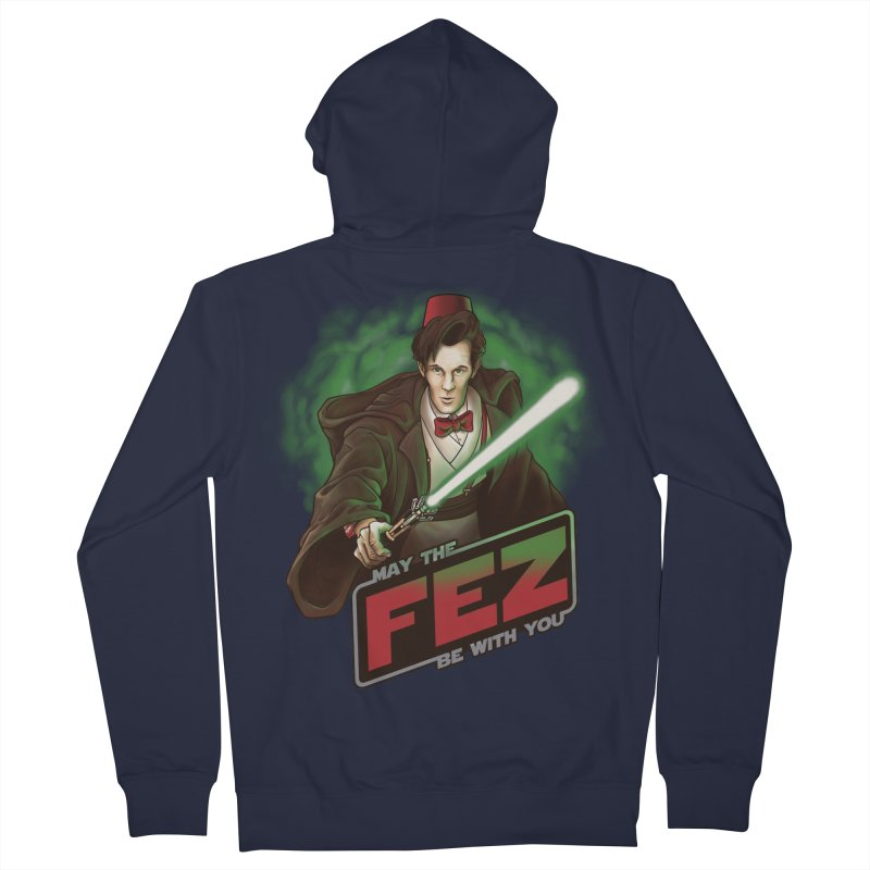 May the Fez be With You Men's Zip-Up Hoody by Ian Leino @ Threadless