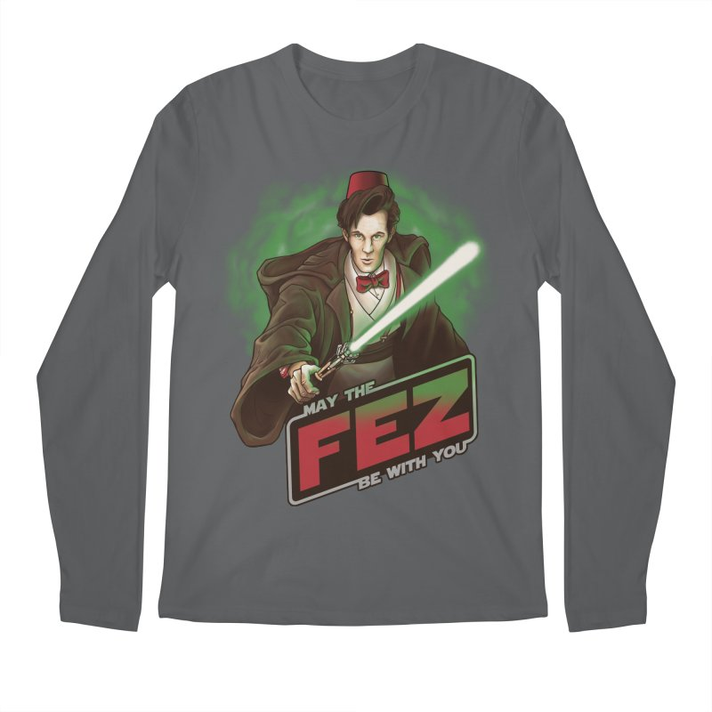 May the Fez be With You Men's Longsleeve T-Shirt by Ian Leino @ Threadless