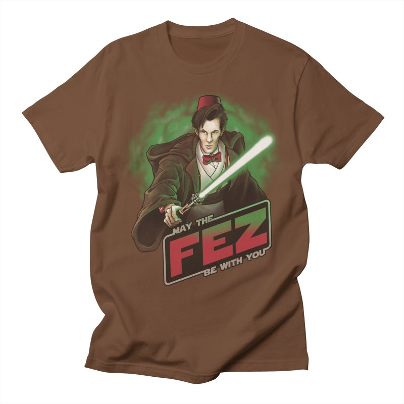 May the Fez be With You Women's Regular Unisex T-Shirt by Ian Leino @ Threadless