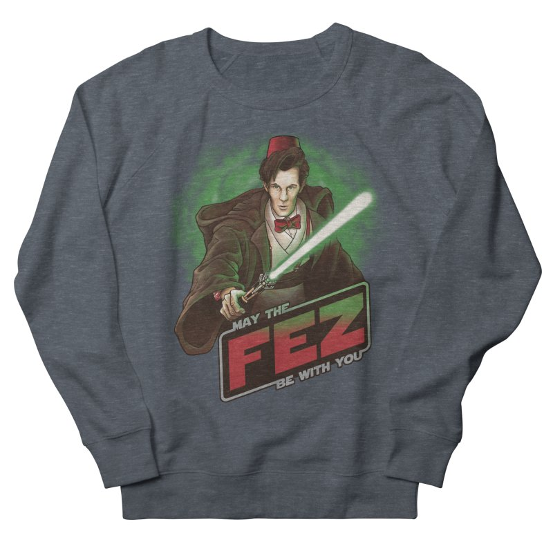 May the Fez be With You Men's French Terry Sweatshirt by Ian Leino @ Threadless