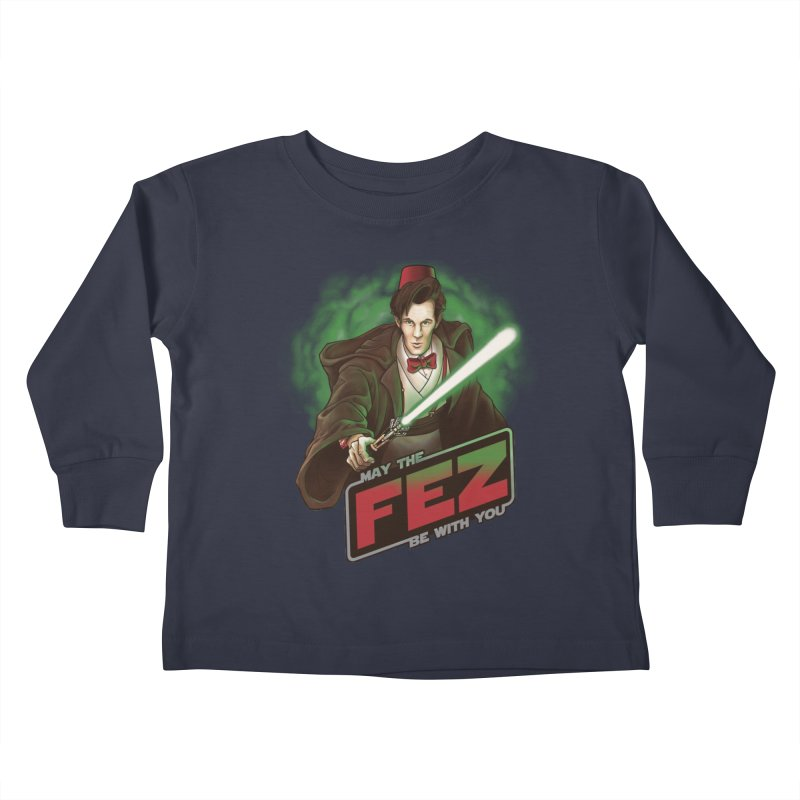 May the Fez be With You Kids Toddler Longsleeve T-Shirt by Ian Leino @ Threadless