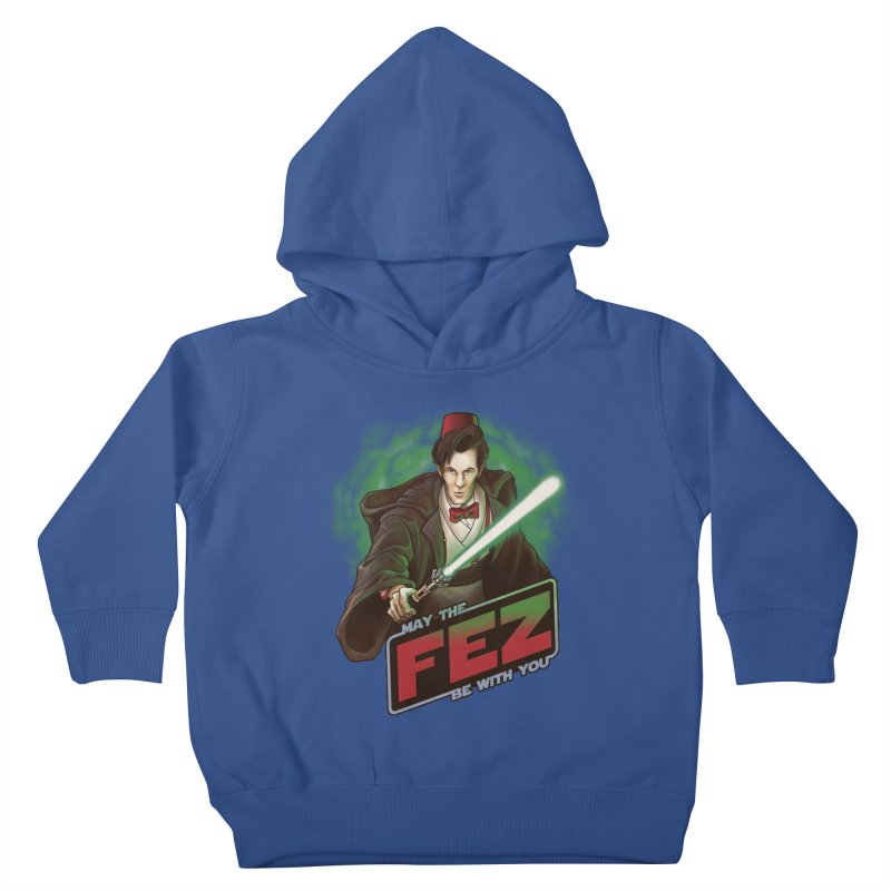May the Fez be With You Kids Toddler Pullover Hoody by Ian Leino @ Threadless