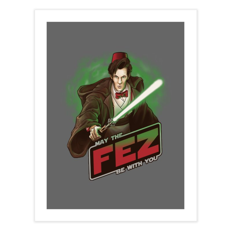 May the Fez be With You Home  by Ian Leino @ Threadless