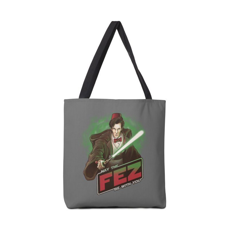 May the Fez be With You Accessories Tote Bag Bag by Ian Leino @ Threadless