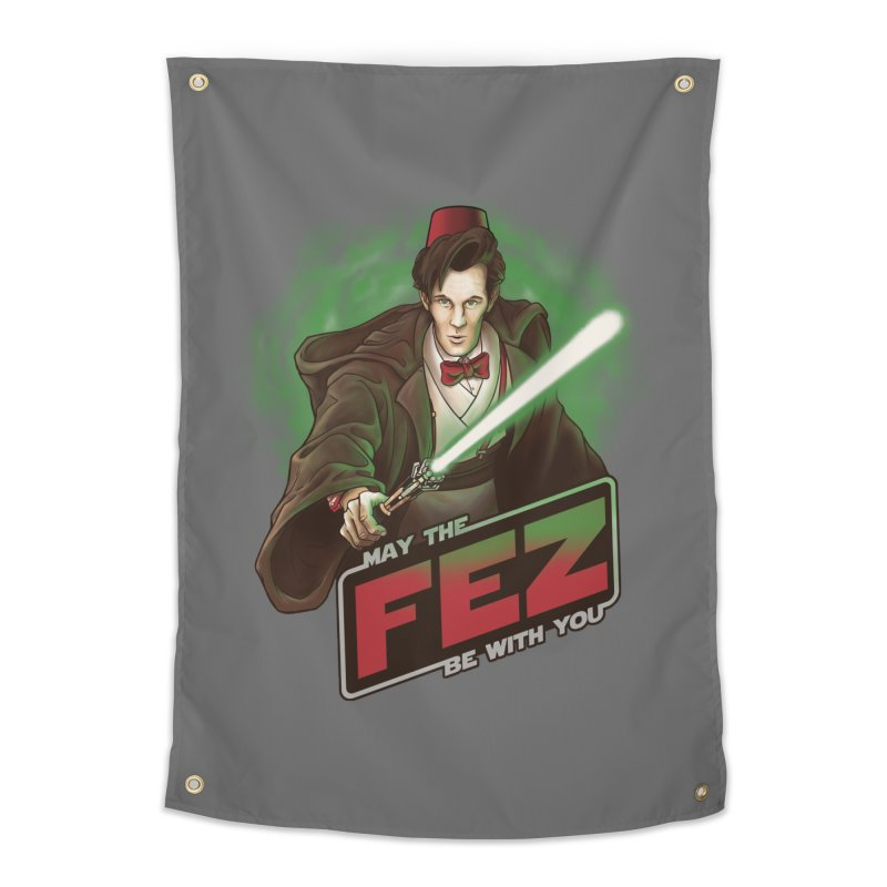 May the Fez be With You Home Tapestry by Ian Leino @ Threadless