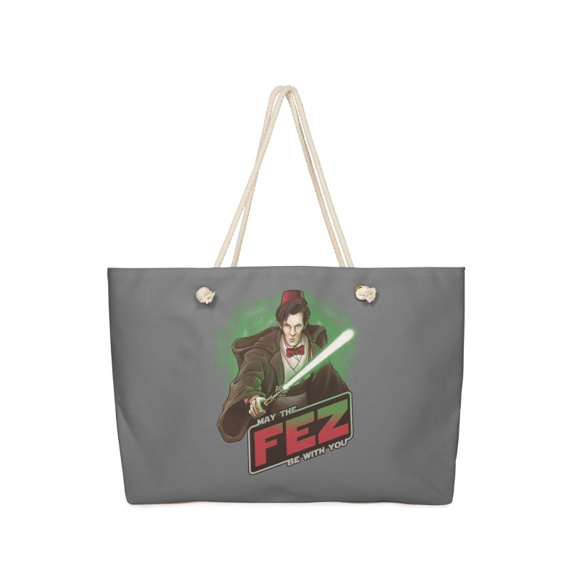 May the Fez be With You Accessories Bag by Ian Leino @ Threadless