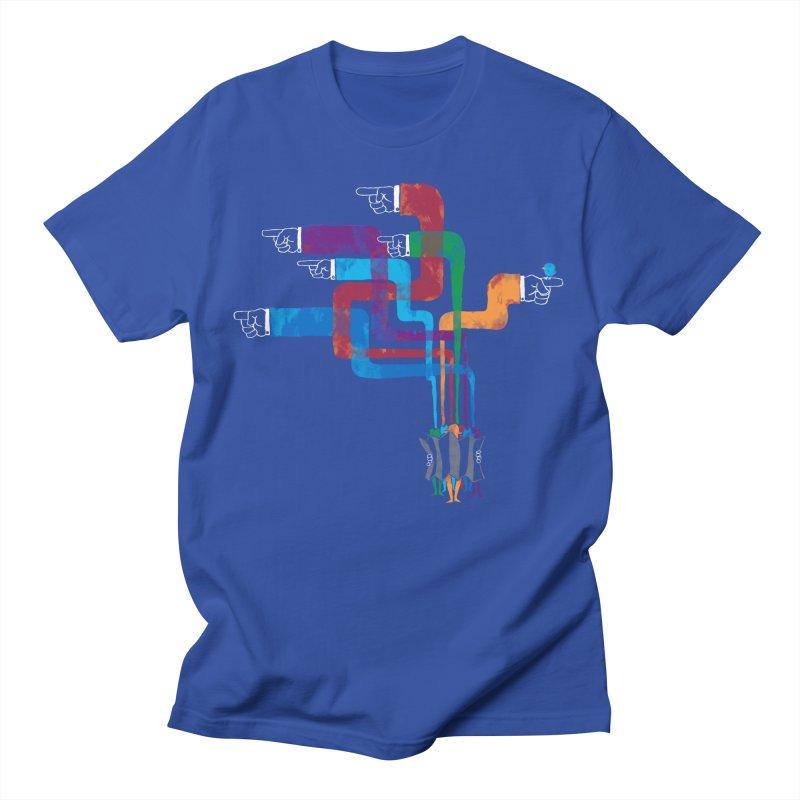 A Strange Sense of Direction Men's T-Shirt by Ian Leino @ Threadless