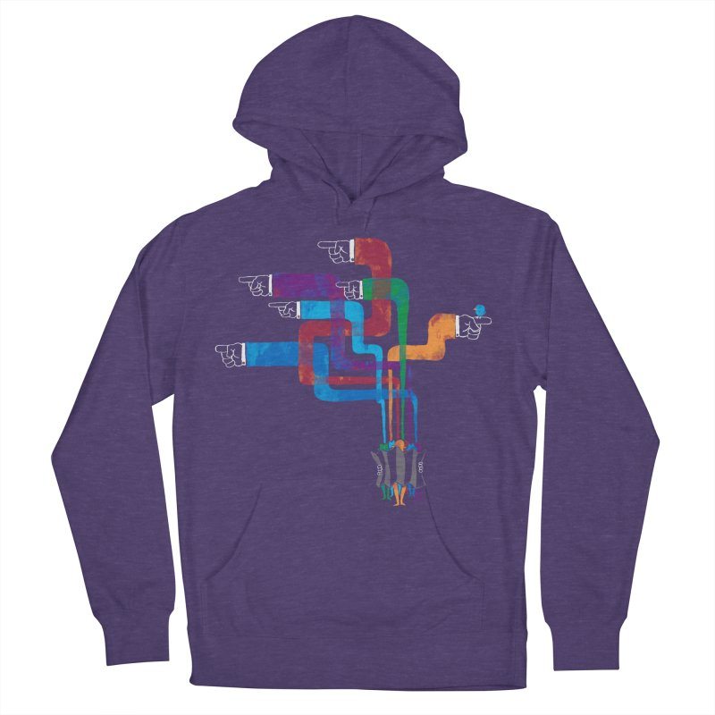 A Strange Sense of Direction Men's French Terry Pullover Hoody by Ian Leino @ Threadless