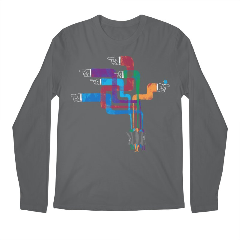 A Strange Sense of Direction Men's Longsleeve T-Shirt by Ian Leino @ Threadless