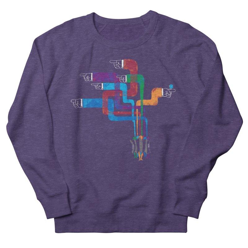 A Strange Sense of Direction Women's French Terry Sweatshirt by Ian Leino @ Threadless