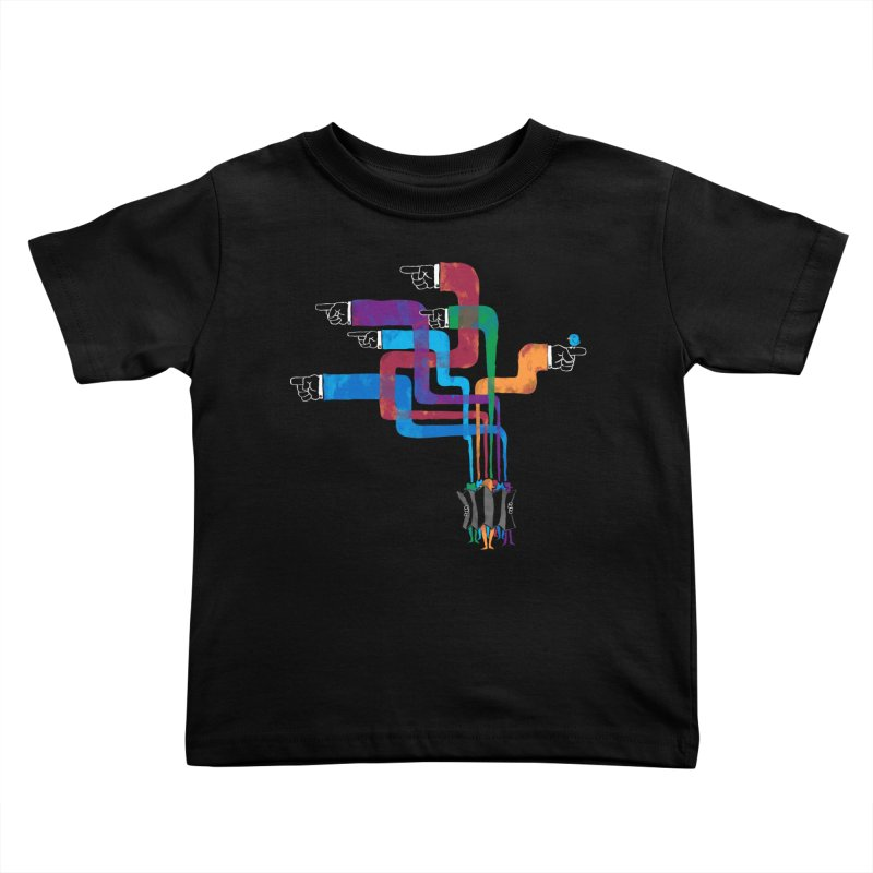 A Strange Sense of Direction Kids Toddler T-Shirt by Ian Leino @ Threadless