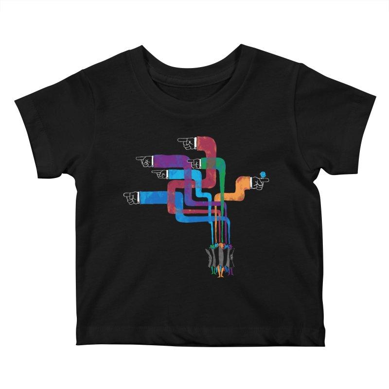 A Strange Sense of Direction Kids Baby T-Shirt by Ian Leino @ Threadless