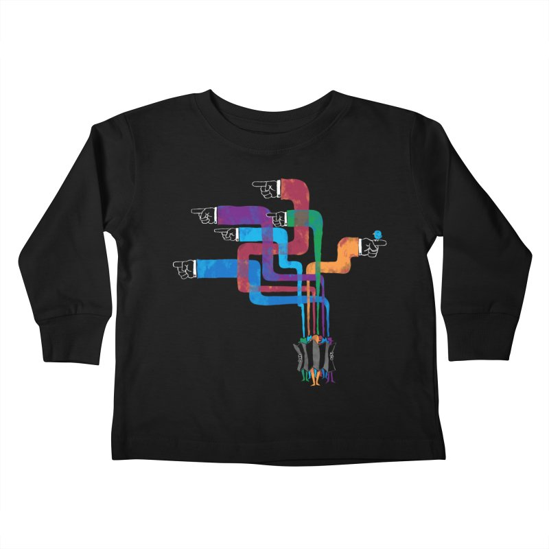 A Strange Sense of Direction Kids Toddler Longsleeve T-Shirt by Ian Leino @ Threadless
