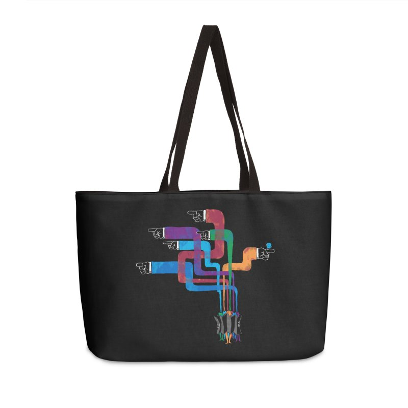 A Strange Sense of Direction Accessories Weekender Bag Bag by Ian Leino @ Threadless