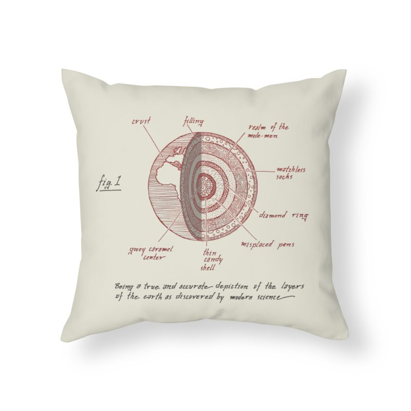How Many Licks? Home Throw Pillow by Ian Leino @ Threadless