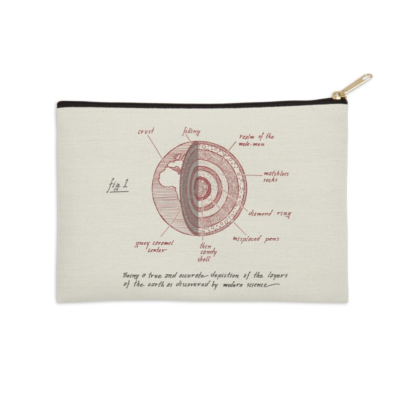 How Many Licks? Accessories Zip Pouch by Ian Leino @ Threadless