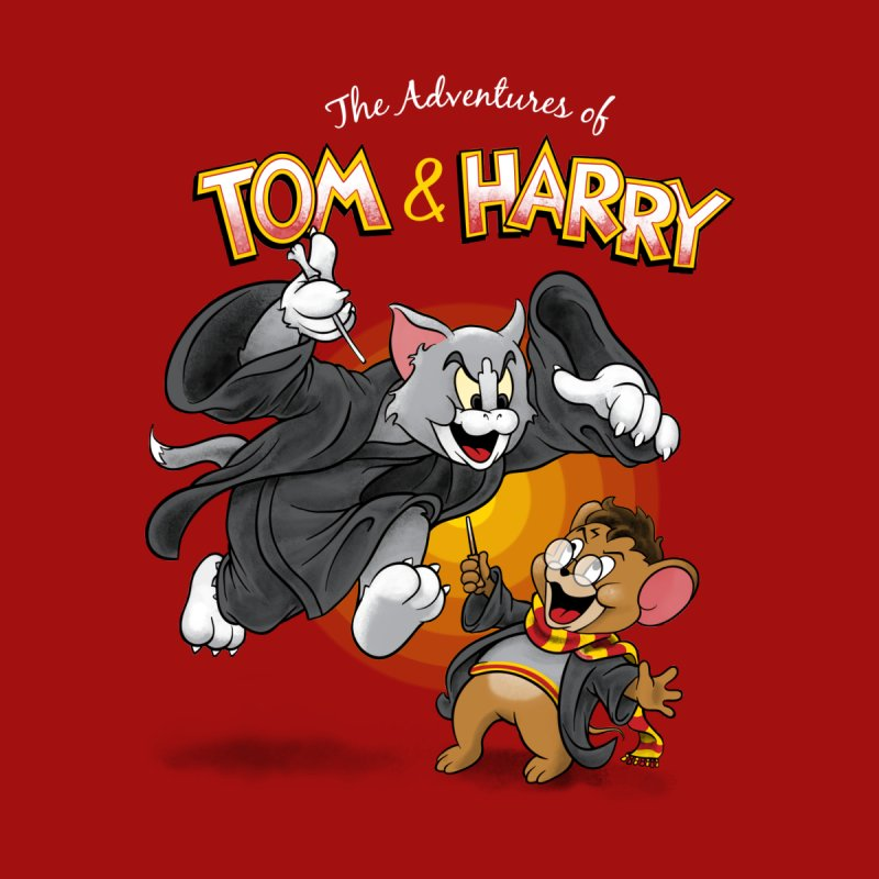 The Adventures of Tom & Harry Home Stretched Canvas by Ian Leino @ Threadless