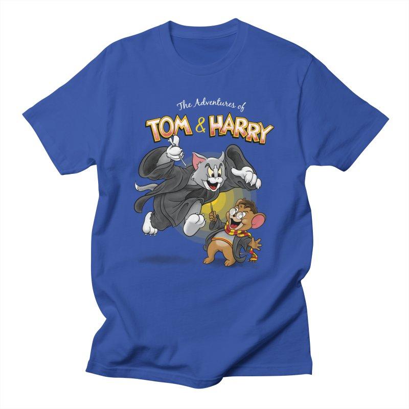 The Adventures of Tom & Harry Men's T-Shirt by Ian Leino @ Threadless