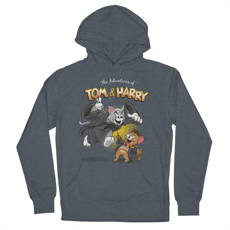 The Adventures of Tom & Harry Men's French Terry Pullover Hoody by Ian Leino @ Threadless