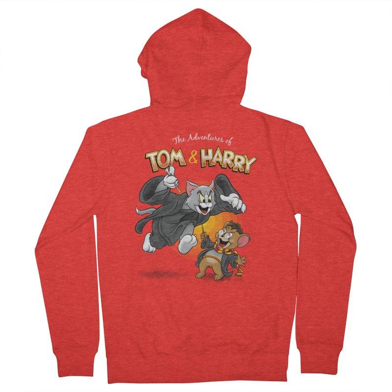 The Adventures of Tom & Harry Women's Zip-Up Hoody by Ian Leino @ Threadless