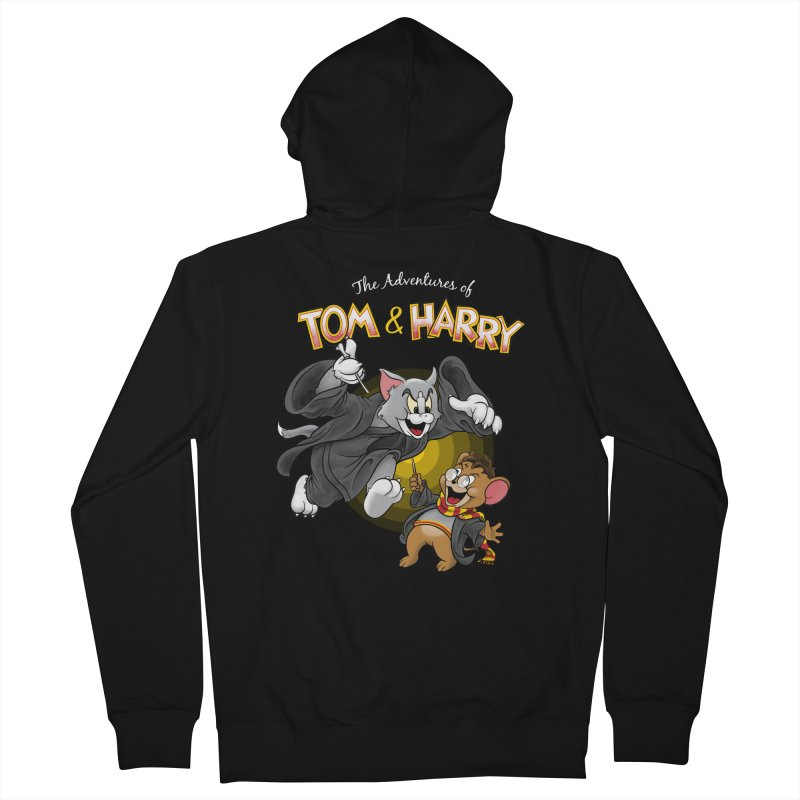 The Adventures of Tom & Harry Women's French Terry Zip-Up Hoody by Ian Leino @ Threadless