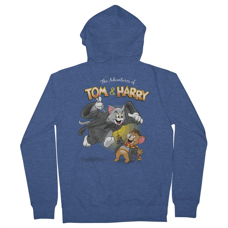 The Adventures of Tom & Harry Men's Zip-Up Hoody by Ian Leino @ Threadless