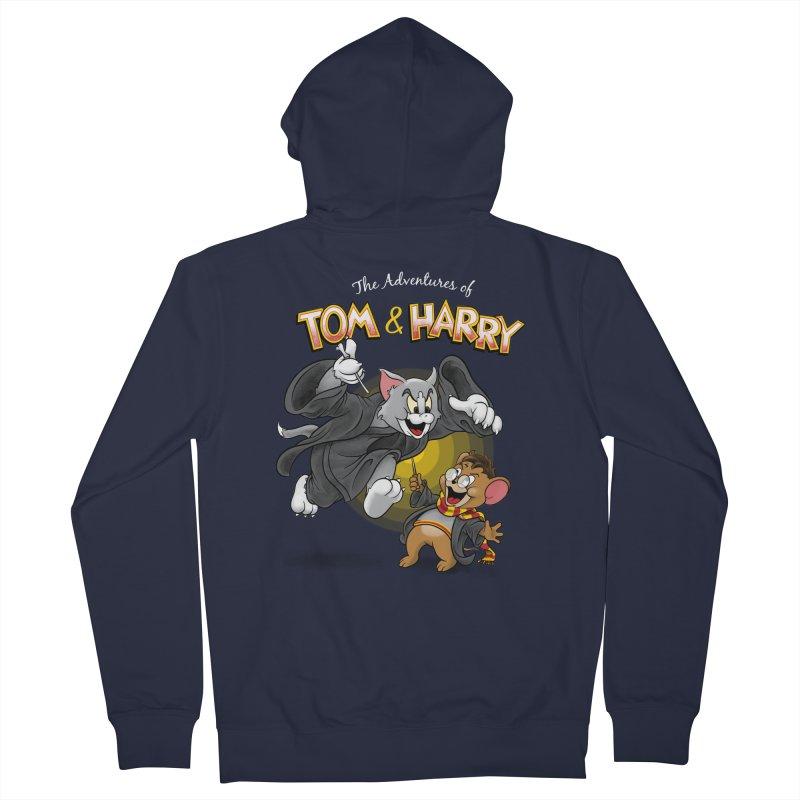 The Adventures of Tom & Harry Men's Zip-Up Hoody by Ian Leino @ Threadless