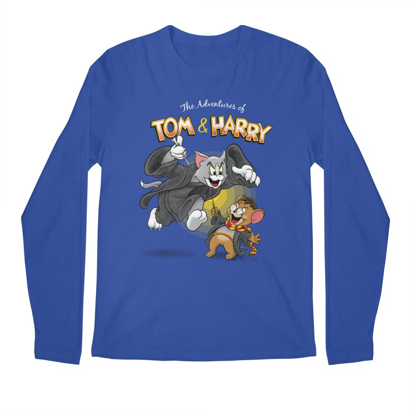 The Adventures of Tom & Harry Men's Longsleeve T-Shirt by Ian Leino @ Threadless