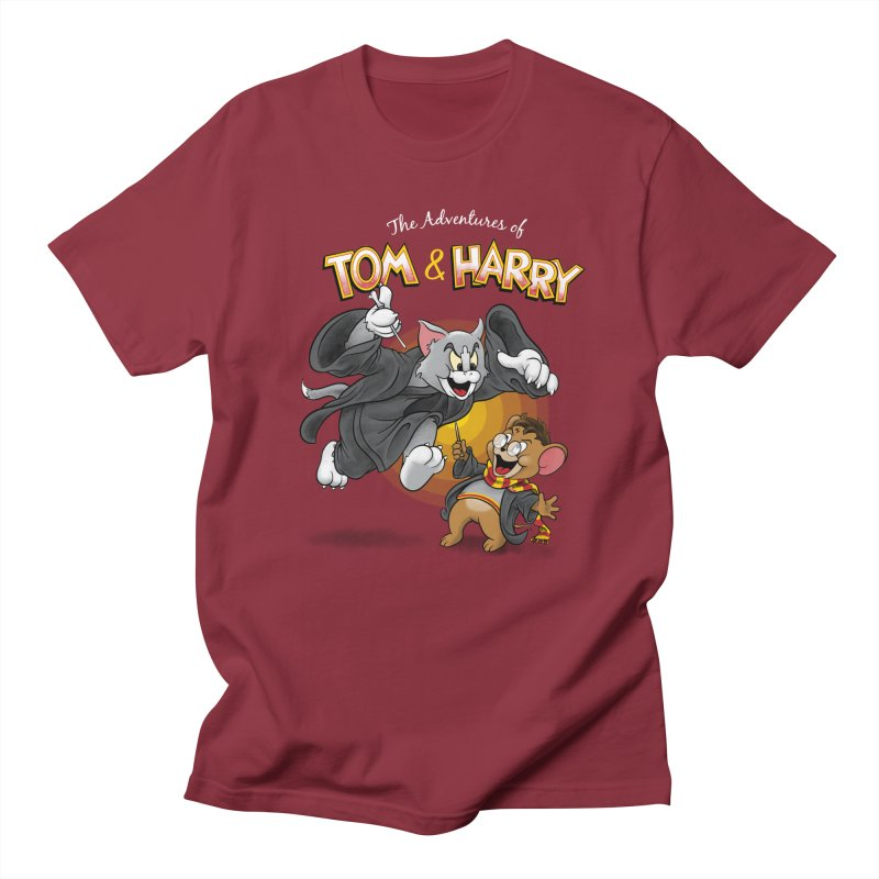 The Adventures of Tom & Harry Men's T-Shirt by Ian Leino @ Threadless