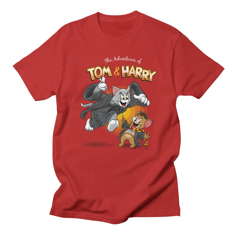 The Adventures of Tom & Harry   by Ian Leino @ Threadless