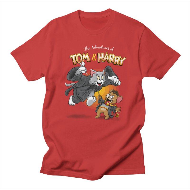 The Adventures of Tom & Harry Women's Regular Unisex T-Shirt by Ian Leino @ Threadless
