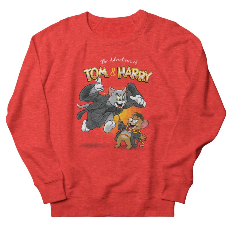 The Adventures of Tom & Harry Women's Sweatshirt by Ian Leino @ Threadless