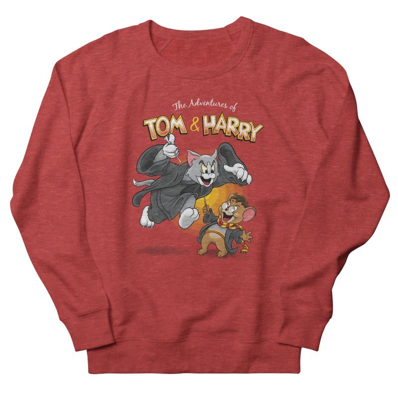 The Adventures of Tom & Harry Women's Sweatshirt by Ian Leino @ Threadless