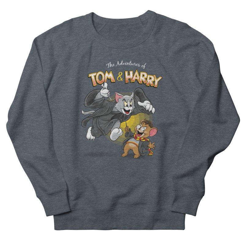 The Adventures of Tom & Harry Men's French Terry Sweatshirt by Ian Leino @ Threadless
