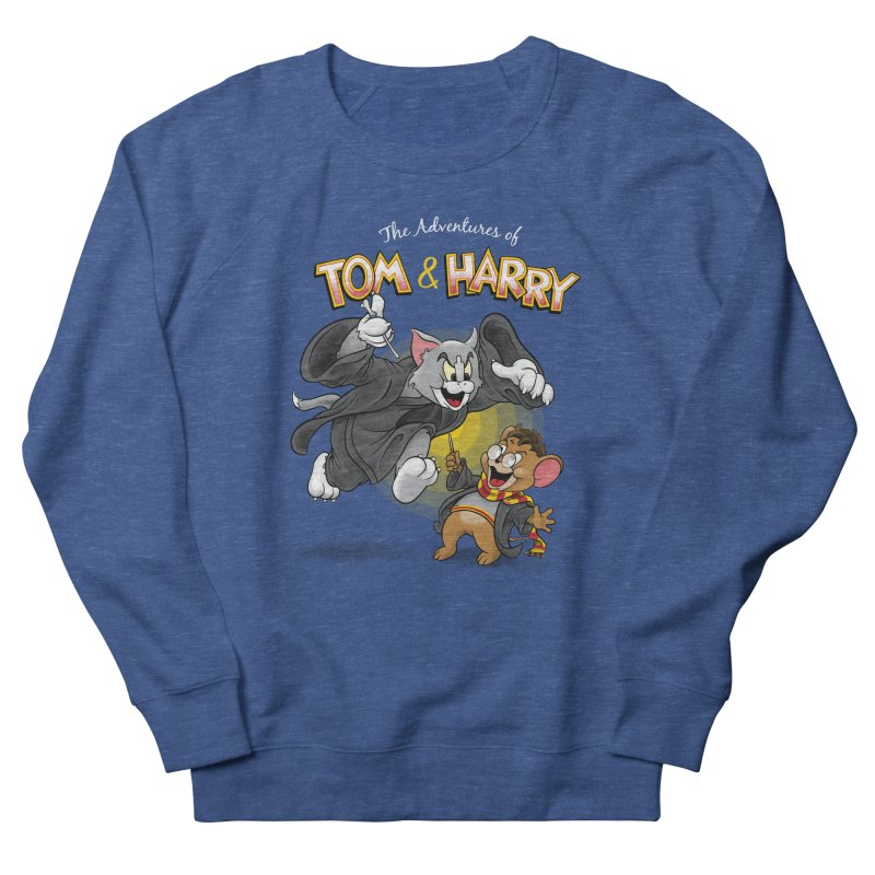 The Adventures of Tom & Harry Men's French Terry Sweatshirt by Ian Leino @ Threadless