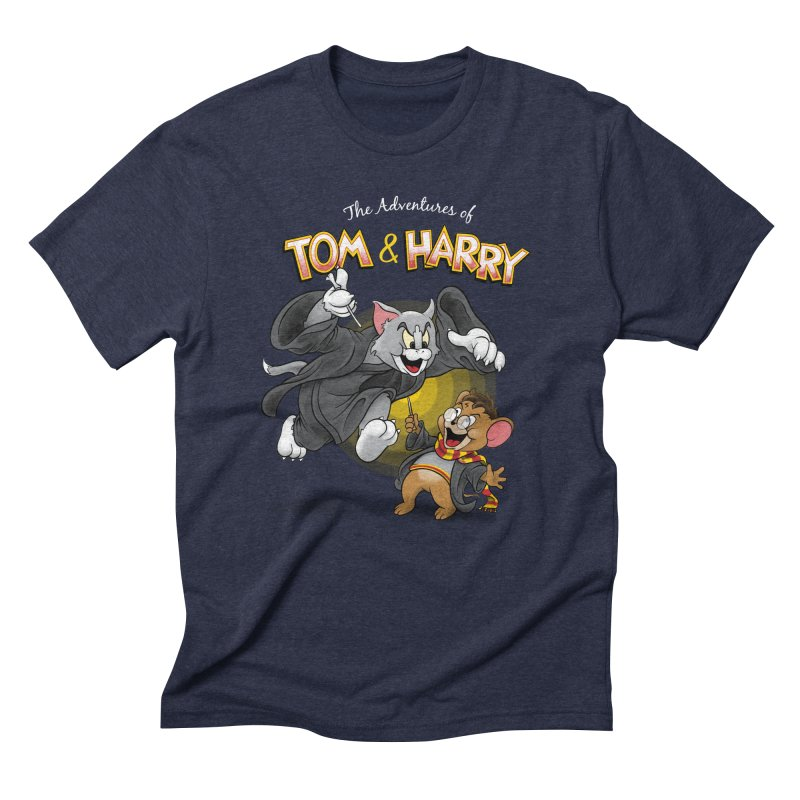 The Adventures of Tom & Harry Men's Triblend T-Shirt by Ian Leino @ Threadless