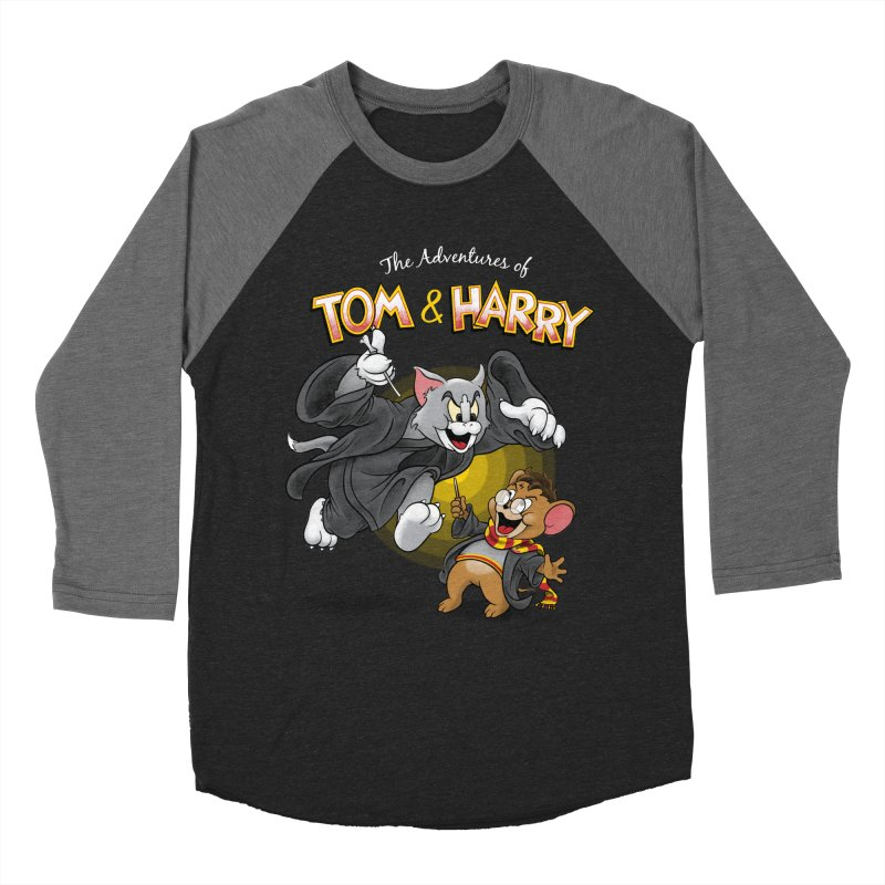 The Adventures of Tom & Harry Men's Baseball Triblend Longsleeve T-Shirt by Ian Leino @ Threadless