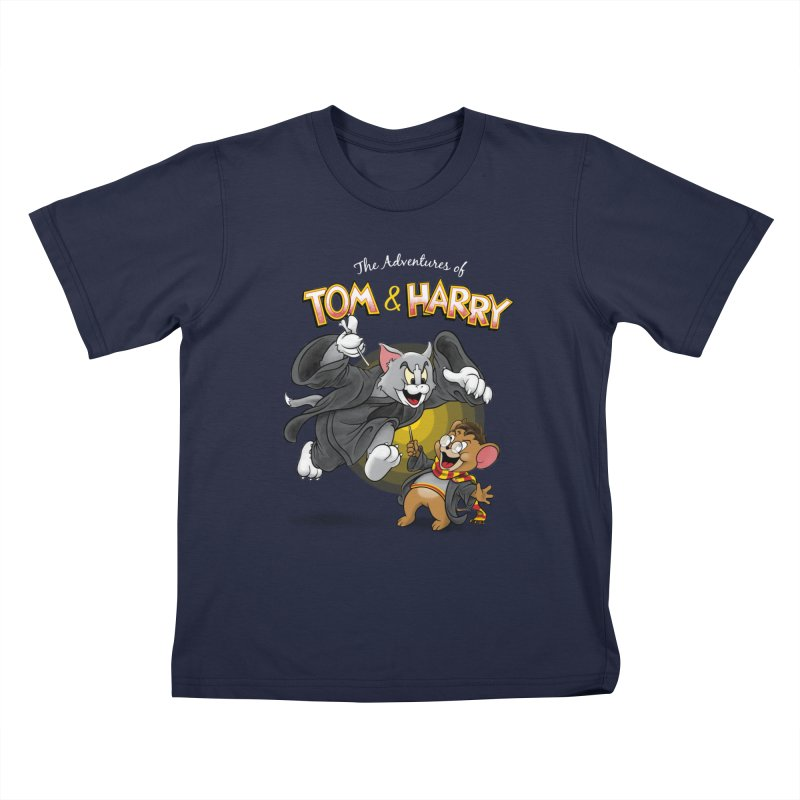 The Adventures of Tom & Harry Kids T-Shirt by Ian Leino @ Threadless