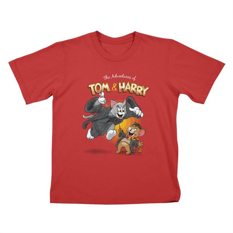The Adventures of Tom & Harry Kids  by Ian Leino @ Threadless