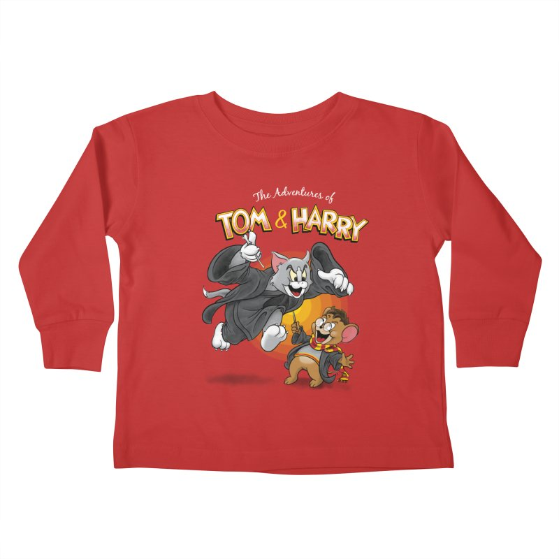 The Adventures of Tom & Harry Kids Toddler Longsleeve T-Shirt by Ian Leino @ Threadless