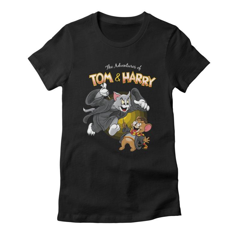 The Adventures of Tom & Harry Women's T-Shirt by Ian Leino @ Threadless