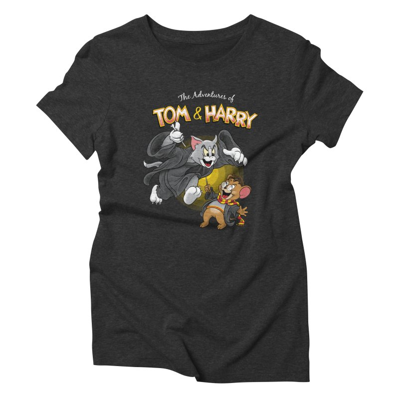 The Adventures of Tom & Harry Women's Triblend T-shirt by Ian Leino @ Threadless