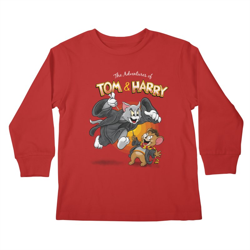 The Adventures of Tom & Harry   by Ian Leino @ Threadless