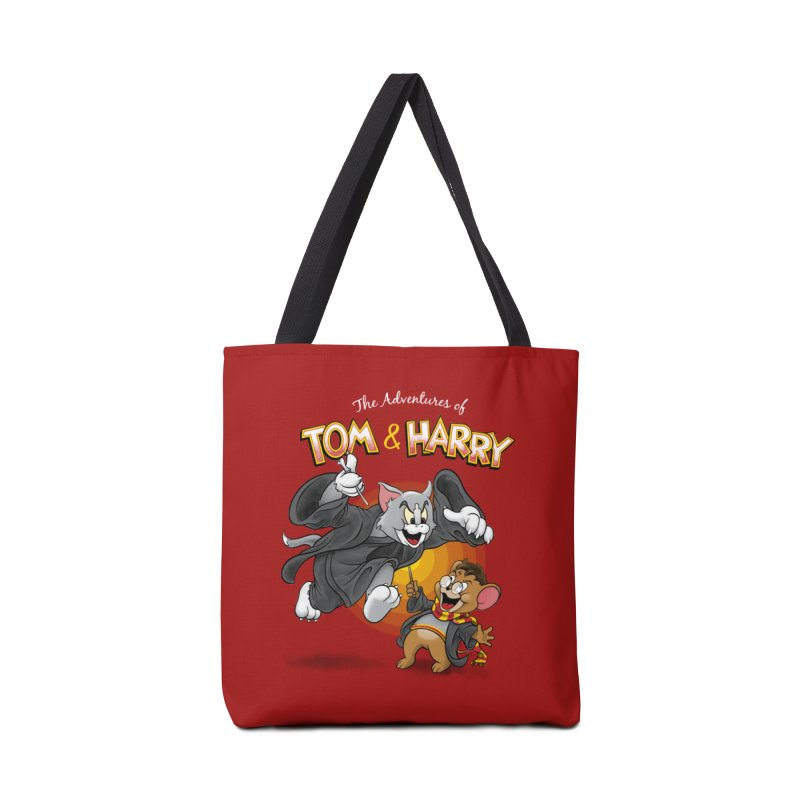 The Adventures of Tom & Harry Accessories Tote Bag Bag by Ian Leino @ Threadless