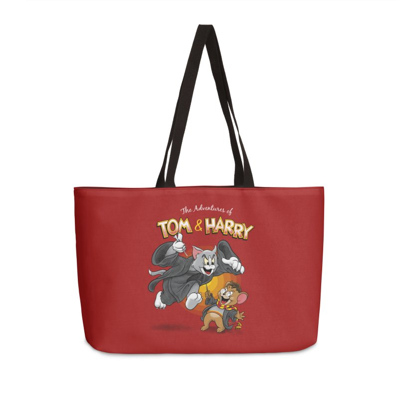 The Adventures of Tom & Harry Accessories Bag by Ian Leino @ Threadless