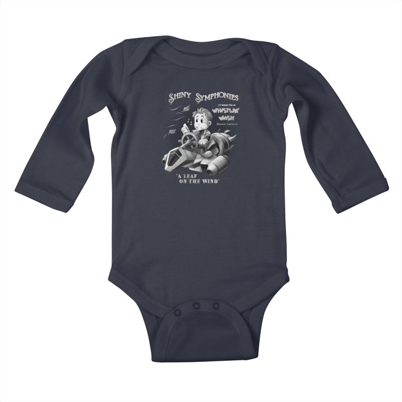 Shiny Symphonies: Whistlin' Wash Kids Baby Longsleeve Bodysuit by Ian Leino @ Threadless
