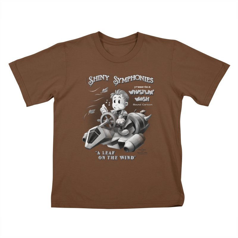 Shiny Symphonies: Whistlin' Wash Kids T-Shirt by Ian Leino @ Threadless