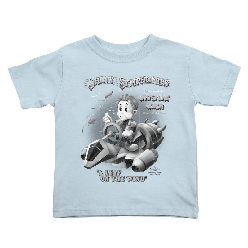 Shiny Symphonies: Whistlin' Wash Kids Toddler T-Shirt by Ian Leino @ Threadless